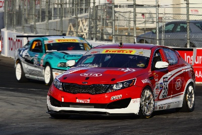 KIA RACING TREKS WEST FOR ROUND THREE OF THE PIRELLI WORLD CHALLENGE ON THE STREETS OF LONG BEACH