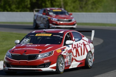 KIA RACING SCORES BACK-TO-BACK PODIUM FINISHES DURING ROUNDS NINE AND TEN OF THE PIRELLI WORLD CHALLENGE AT ROAD AMERICA