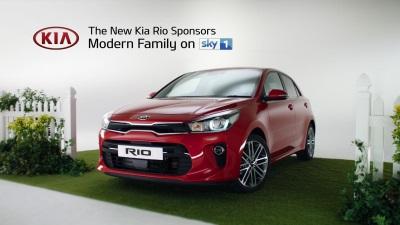 Kia To Sponsor Sky1 Award Winning 'Modern Family'