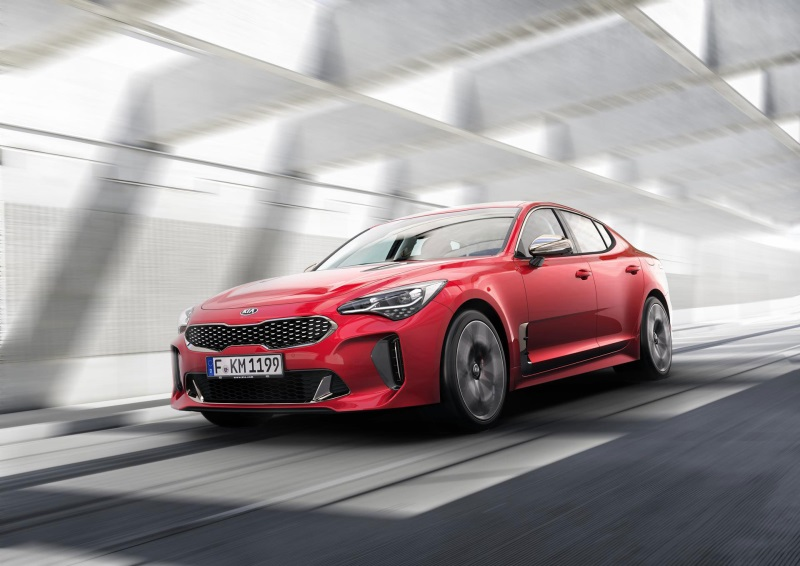 Kia Stinger Receives Eyeson Design Award For Production Car Design Excellence
