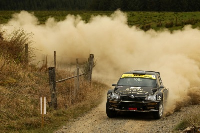 Double Top As Swedish Star Conquers 'Killer' Kielder Forest