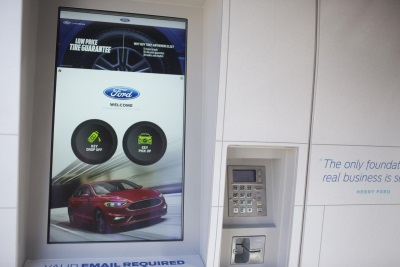 Available 24/7, New Smart Service Kiosk From Ford, Panasonic Saves Customers Time By Automating Vehicle Service Process