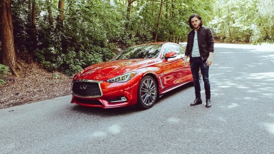 KIT HARINGTON TAKES THE NEW INFINITI Q60 FOR AN EMPOWERED DRIVE IN HIS DEBUT BRAND FILM, TYGER