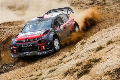 Kris Meeke And Paul Nagle Claim The Citroën C3 WRC's First Win