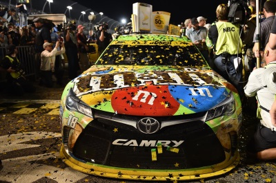 Kyle Busch Secures Toyota's First NSCS Championship