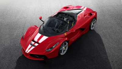 LaFerrari Aperta Sells For Record 8.3 Million Euro. Proceeds Go To Save The Children