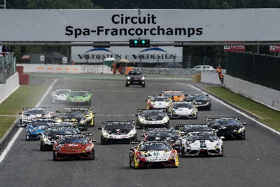 FOURTH ROUND OF THE LAMBORGHINI BLANCPAIN SUPER TROFEO EUROPE THIS WEEKEND ON THE ICONIC CIRCUIT OF SPA-FRANCORCHAMPS