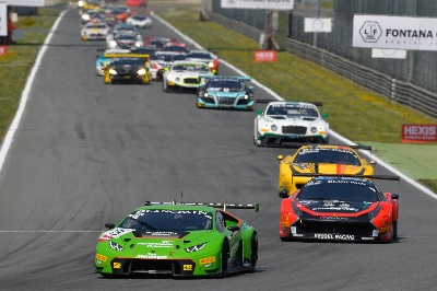 THE LAMBORGHINI HURACÁN GT3 WINS AT ITS DEBUT MONZA OPENER FOR BLANCPAIN ENDURANCE SERIES