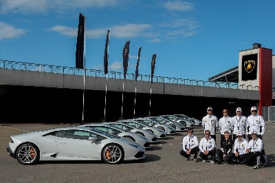 LAMBORGHINI LAUNCHES NORTH AMERICAN PERFORMANCE DRIVING SCHOOL