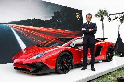 LAMBORGHINI AVENTADOR LP 750-4 SUPERVELOCE MAKES NORTH AMERICAN DEBUT DURING AMELIA ISLAND CONCOURS D'ELEGANCE