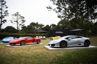AUTOMOBILI LAMBORGHINI HERALDS FUTURE, CELEBRATES PAST AT MONTEREY CLASSIC CAR WEEK