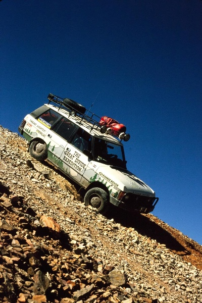 LAND ROVER CELEBRATES 25TH ANNIVERSARY OF THE GREAT DIVIDE EXPEDITION