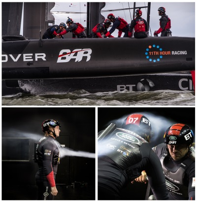LAND ROVER SWAPS VEHICLES FOR AMERICA'S CUP SAILORS IN EXTREME WIND TUNNEL TEST