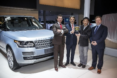 RANGE ROVER WINS AUTOCAR ASIAN CAR OF THE YEAR 2014