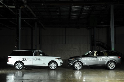 LAND ROVER BRINGS TWO LUXURY DIESEL SUV MODELS TO NORTH AMERICA MARKET