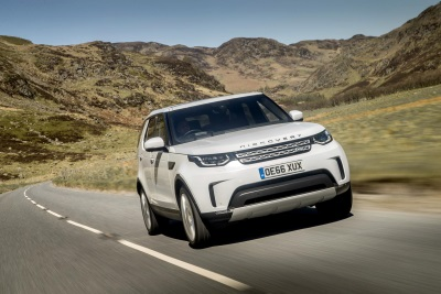 New Land Rover Discovery, Auto Express' 'Car Of The Year 2017'