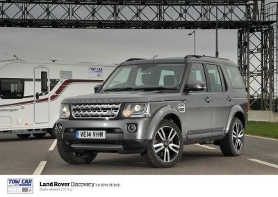 LAND ROVER DISCOVERY PULLS OFF EIGHTH CLASS WIN AT TOW CAR AWARDS