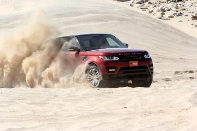 LAND ROVER'S 2014 RANGE ROVER SPORT NAMED 'FOUR WHEELER OF THE YEAR' BY FOUR WHEELER MAGAZINE