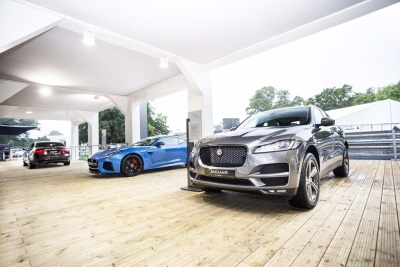 JAGUAR LAND ROVER UK UNVEILS ITS GREATEST PRESENCE TO DATE AT GOODWOOD FESTIVAL OF SPEED