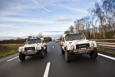 LAND ROVER SPONSORED RACE2RECOVERY SET SAIL TO DAKAR