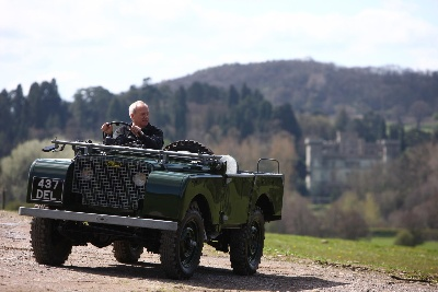 Land Rover Legend Roger Crathorne 'Heads For The Hills' After 50 Years Service
