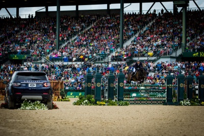 Land Rover North America Welcomes The World's Best Riders To The Rolex Kentucky Three-Day Event
