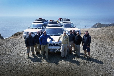 Land Rover Expedition America Team Successfully Crosses The Usa Off-Road