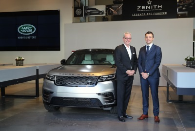 Land Rover And Premium Watchmaker Zenith Partner To Present The Range Rover Velar To West Coast Customers For First Time