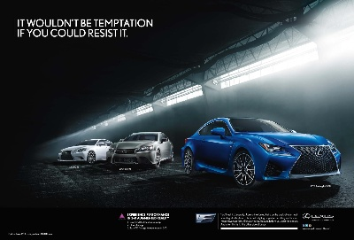 Lexus Tempts Consumers with Alter Ego