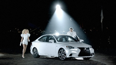 Lexus IS Launch Spots Encourage Consumers to Blend Out