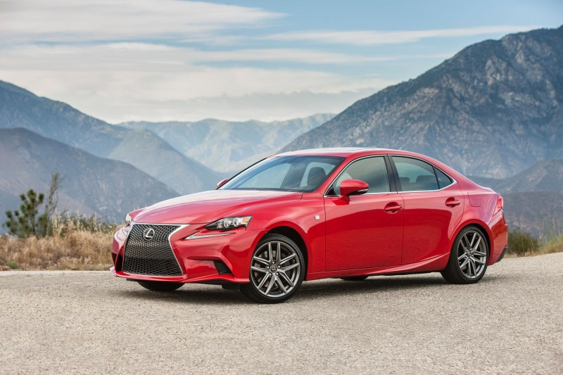 Lexus Is Sport Sedan Gets Revved Up In With Three Available