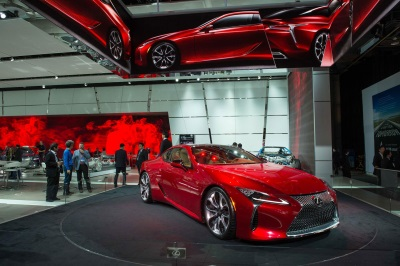 LEXUS LC 500 TAKES CENTER STAGE AT 2016 NORTH AMERICAN INTERNATIONAL AUTO SHOW EXHIBIT