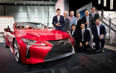 Lexus LC 500 Luxury Coupe Receives 2016 EyesOn Design Awards