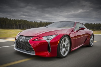 UK DEBUT FOR LEXUS LC AT GOODWOOD FESTIVAL OF SPEED