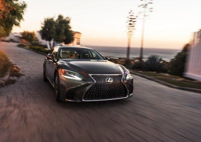 Lexus LS And LC Cruise Into The Windy City For 2017 Chicago Auto Show