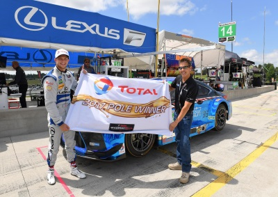Lexus RC F GT3 Registers First Pole In Canada