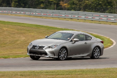 Lexus Shatters Limits with First-Ever RC Coupe and RC F Performance Coupe