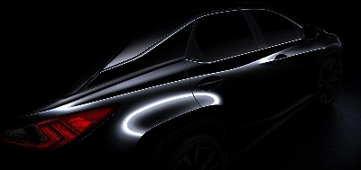 2016 Lexus RX To Make Its Global Debut Under the Bright Lights of the Big Apple: 2015 NYIAS