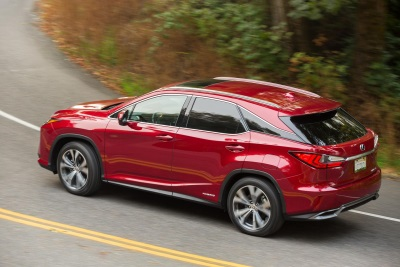 Lexus RX Hybrid Named Green Vehicle of Texas at Texas Auto Writers Auto Roundup