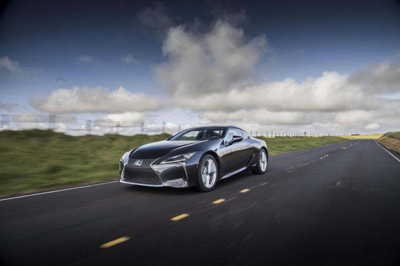 Lexus Drives Away With Performance Coupe Award From The Texas Auto Writers Association