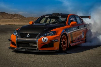 LEXUS PARTNERS WITH TONY HAWK FOUNDATION TO CREATE A FAN BASED DECAL FOR ITS ENTRY AT PIKES PEAK ON JUNE 30