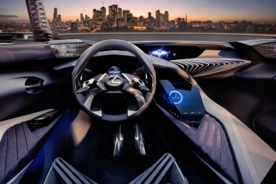 Lexus UX Concept Introduces Immersive 3-D Driving Experience