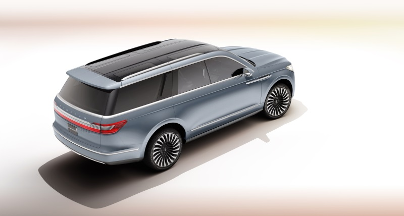 LINCOLN TO SHOWCASE NAVIGATOR CONCEPT SUV AT LOS ANGELES AUTO SHOW