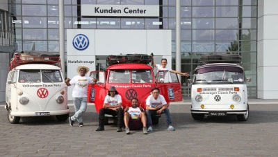 From Malaysia To Hannover: Volkswagen Fans Cover 12,500 Miles In Vintage Buses To Realise Their Dream