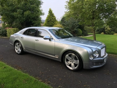 LISTER CEO PUTS £280K BENTLEY MULSANNE ON EBAY WITH NO RESERVE