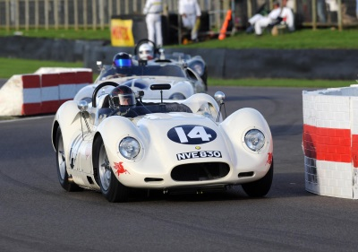LISTER CARS STAR AT GOODWOOD REVIVAL 2015