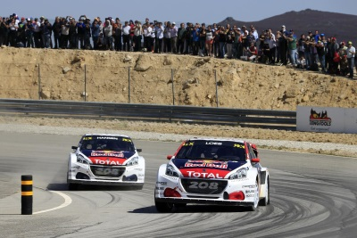 Sébastien Loeb Steers His Peugeot 208 WRX To Second Place In Portugal