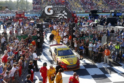 JOEY LOGANO AND FORD COMPLETE WEEKEND NASCAR SWEEP AT WATKINS GLEN