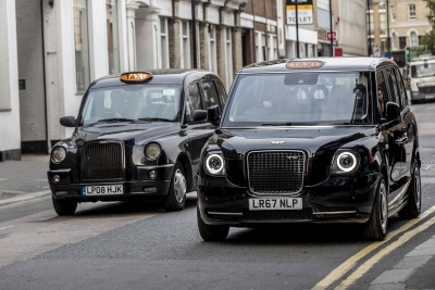 The World's Most Advanced, Electric Taxis Arrive On London's Roads Today For The Final Phase Of Testing