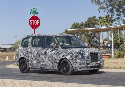 London Taxi Company's All-New Range-Extended Electric Black Cab Shines In Extreme Arizona Desert Heat